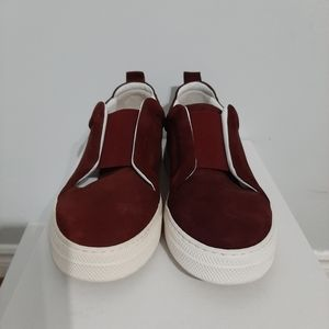 Pierre Hardy Velvet Sliders